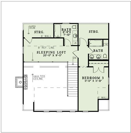 NDG1384-Upper Floor