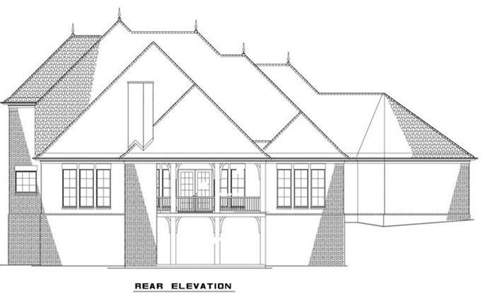 NDG1289-Rear Elevation