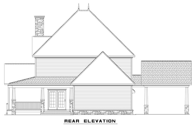 NDG918-Rear Elevation