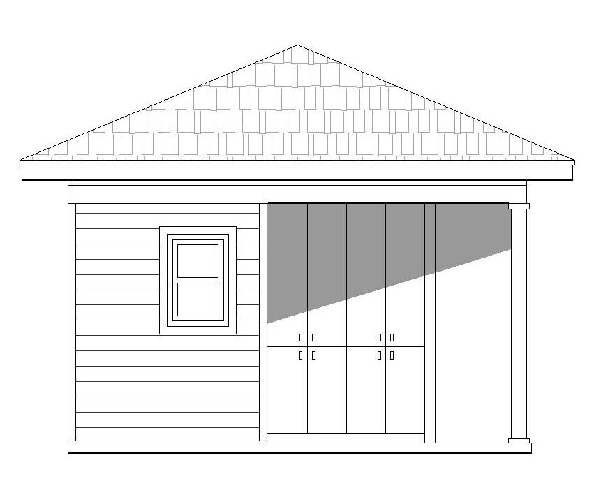 0300-P-Front Elevation