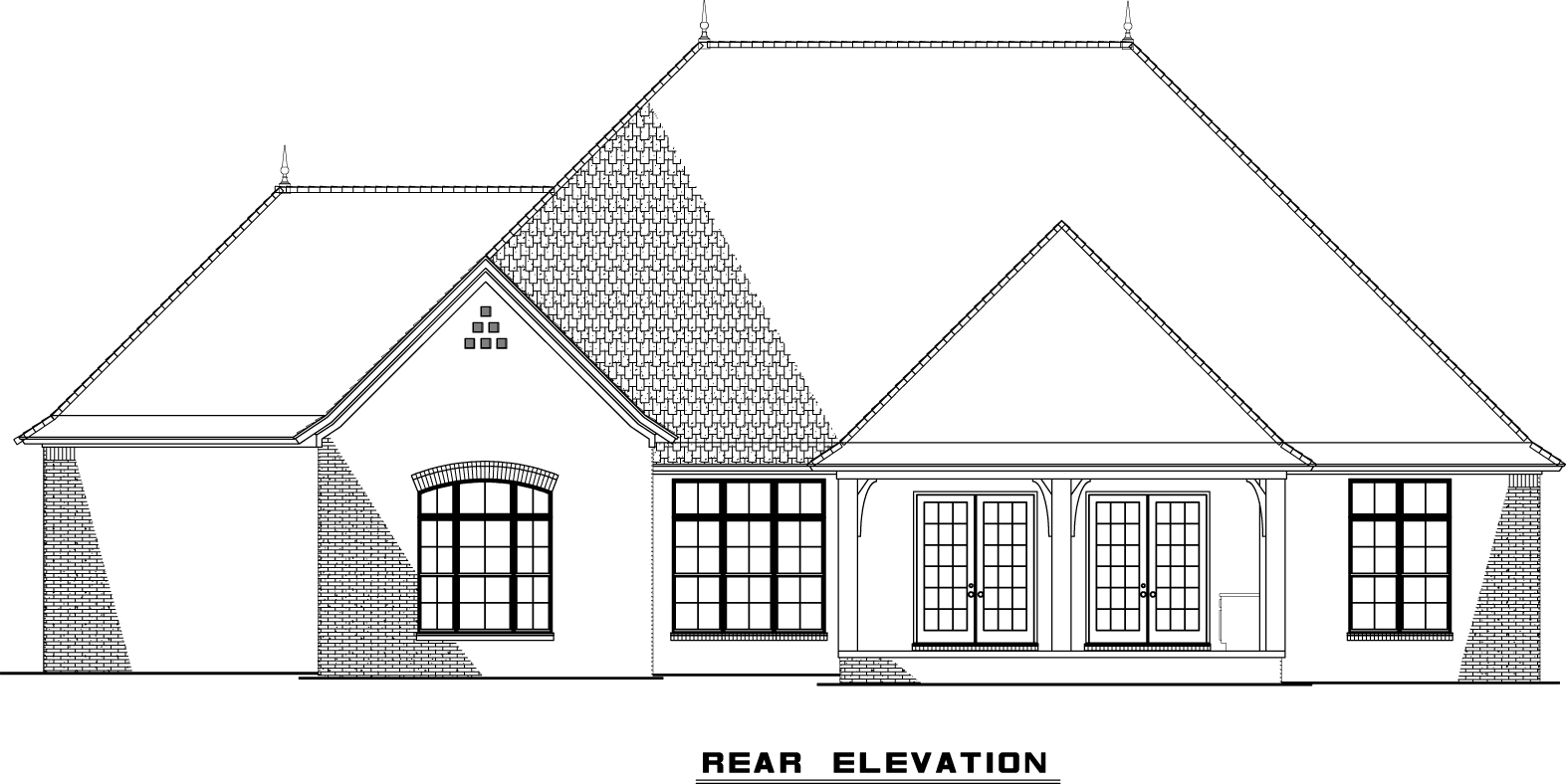 MEN5153-Rear Elevation