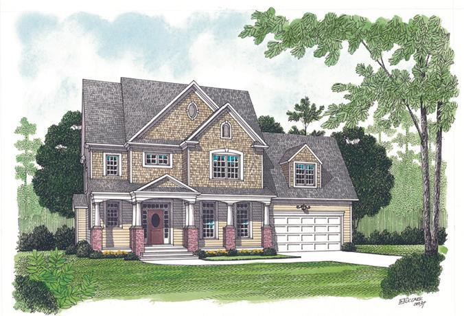 Plan 15325 2 bedroom 1 5 bath house plan with 2 car for One story low country house plans