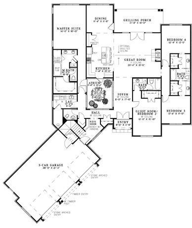 Peninsula Kitchen Floor Plan kitchen floor plans peninsula u shaped kitchen plans ~ home plan