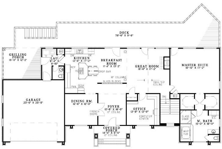 NDG695-Main Floor